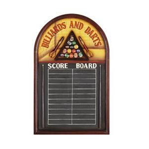 RAM Game Room 37.50-in x 23.50-in Billiards and Darts Pub Sign