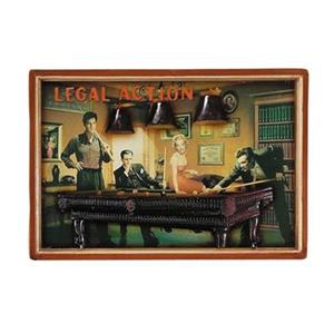 RAM Game Room Products 16-in x 23-in Legal Action Framed Art