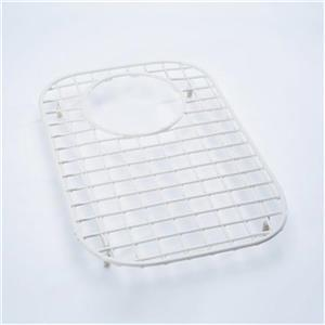 Rohl 14-in x 10-in White Large Wire Grid Small Bowl Kitchen Sink Rack