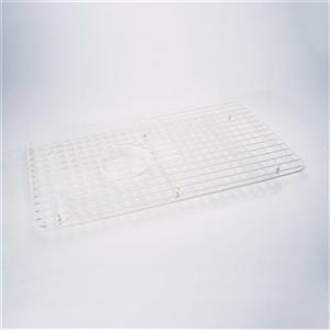 Rohl 26-in x 15-in White Wire Grid Kitchen Sink Rack