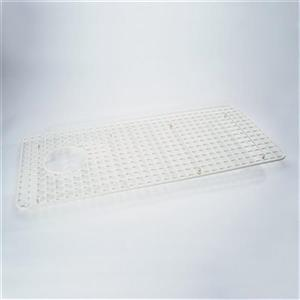 Rohl 33-in x 15-in White Wire Grid Kitchen Sink Rack