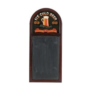 RAM Game Room 36-in x 16-in Ice Cold Beer Chalkboard Wall Sign