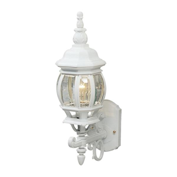 Artcraft Lighting 20-in White Classico Small Outdoor Sconce