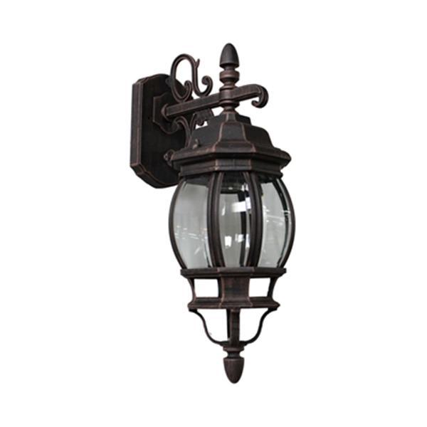 Artcraft Lighting 17.50-in Rust Classico Outdoor Sconce