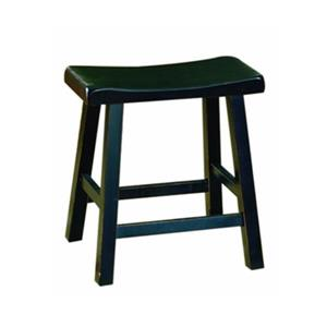 Homelegance 5302 Saddleback Bar Stool (Set of 2),5302BK-18