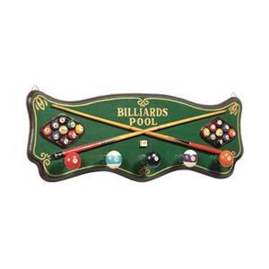 RAM Game Room Billiards Coat Rack