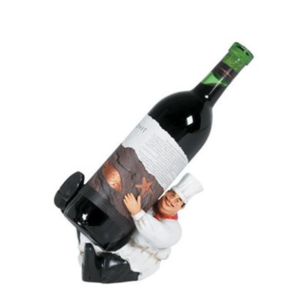 RAM Game Room Products Kicking Chef Wine Caddy