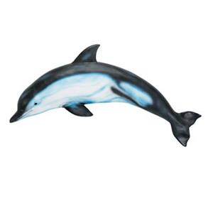 RAM Game Room Products Outdoor Dolphin Wall Art
