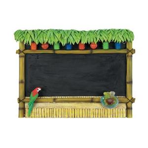RAM Game Room 23-in x 30-in Tiki Bar Outdoor Chalkboard