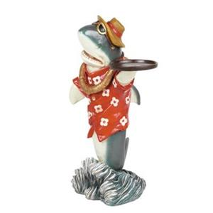 RAM Game Room ODR361 Décor Shark Waiter Statue,ODR361