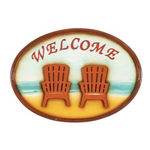 RAM Game Room 17-in Chairs Outdoor Welcome Sign