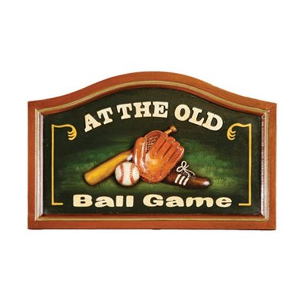 RAM Game Room At The Old Ball Game Sign