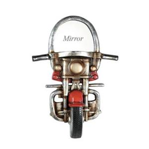 RAM Game Room Products Motorcycle Décor Wall Mirror