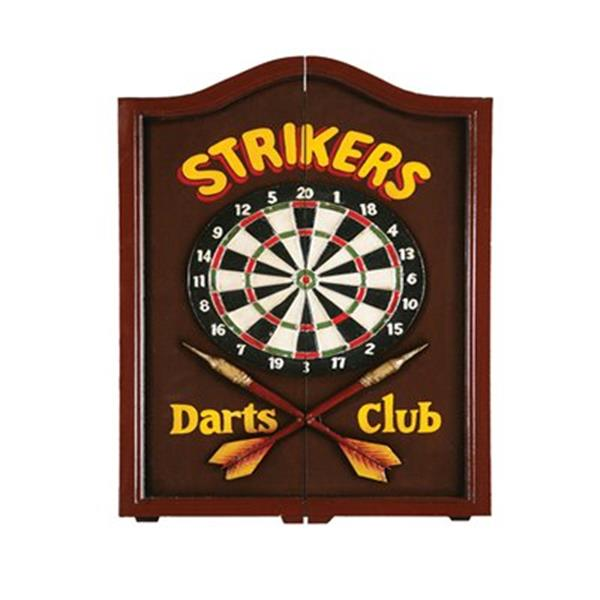 RAM Game Room Products 27-in x 27-in Strikers Dartboard Cabinet