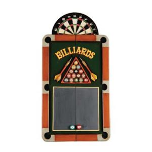 RAM Game Room Products 39-in x 34-in Billiards Darts Dartboard Cabinet
