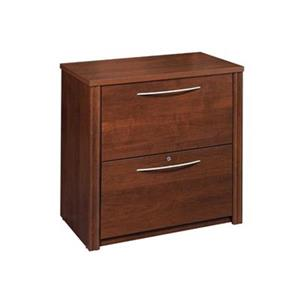 Bestar Embassy 30.4-in x 30.80-in Tuscany Brown Lateral File Cabinet