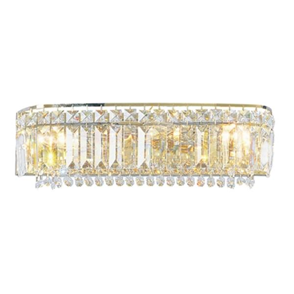 Classic Lighting Ambassador Chrome 3-Light Bathroom Vanity Light Bar