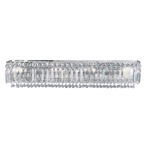 Classic Lighting Ambassador Chrome 4-Light Bathroom Vanity Light Bar