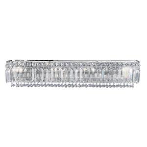 Classic Lighting Ambassador 24K Gold Plate 4-Light Bathroom Vanity Light Bar