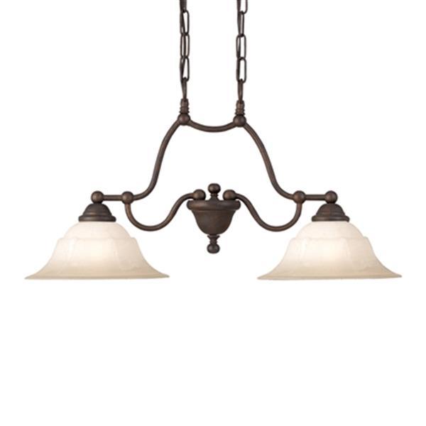 Classic Lighting Providence Multi-Light 2-Light Pendant Light