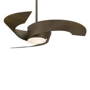 Fanimation Torto™ 52-in Oil Rubbed Bronze 2-Light Ceiling Fan