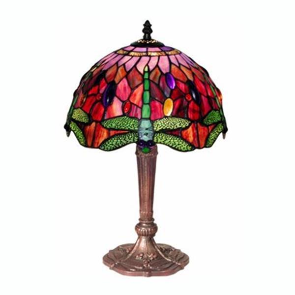 Warehouse of Tiffany Tiffany Style Dragonfly Table Lamp