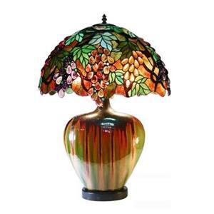 Warehouse of Tiffany Tiffany Style Grape Table Lamp