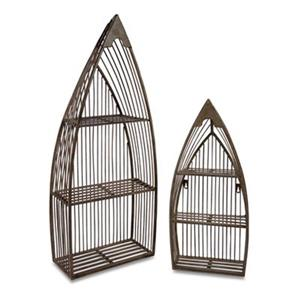 IMAX Worldwide Captain's Quarters Nesting Boat Shelf (Set of 2)