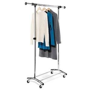 Honey Can Do GAR-01123 Commercial Garment Rack, Chrome,GAR-0
