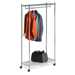 Honey Can Do GAR-01120 Urban Garment Rack, Chrome,GAR-01120