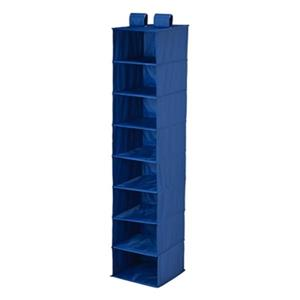 Honey Can Do Blue 8-Shelf Hanging Closet Organizer