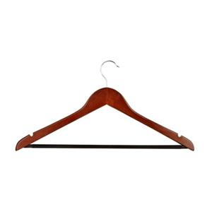 Honey Can Do Cherry Wood Hangers (Set of 24)