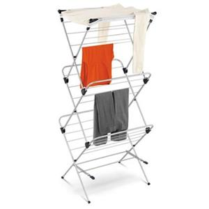 Honey Can Do DRY Silver 2-Tier Mesh Top Drying Rack