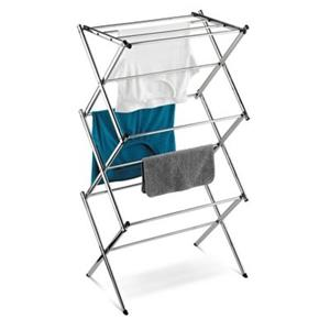 Honey Can Do DRY Chrome Commercial Accordion Drying Rack