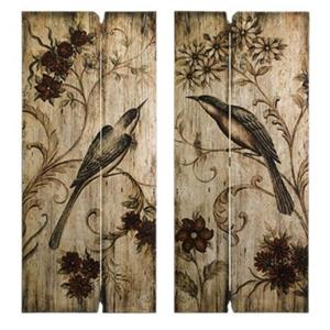 IMAX Worldwide Norida Bird Wall Decor (Set of 2)