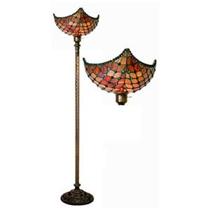 Warehouse of Tiffany Royal Torchiere Floor Lamp