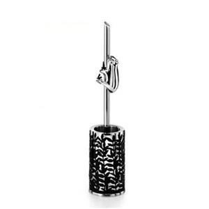 WS Bath Collections Skoati Stainless Steel Toilet Brush Holder