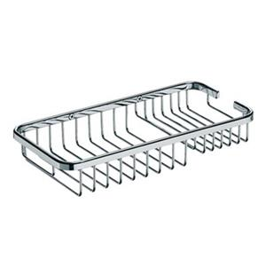 WS Bath Collections Filo 9.80-in Polished Chrome Shower Caddy