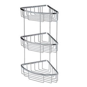 WS Bath Collections Filo 3-Tier Basket Shower Caddy