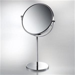 WS Bath Collections 9-in Chrome Pure Table Mirror