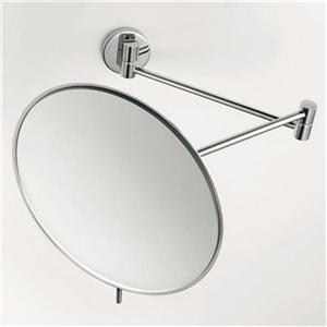WS Bath Collections 7.3-in Chrome Pure Make-Up Mirror