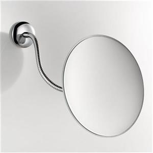 WS Bath Collections 7.1-in Chrome Pure Make-Up Mirror