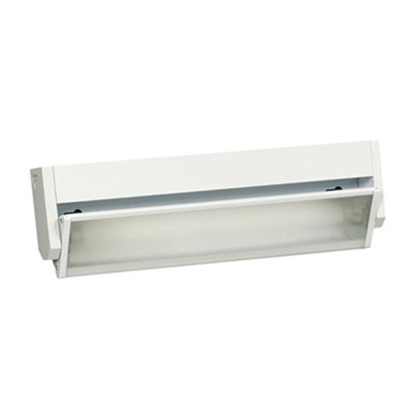 Galaxy 13.75-in White Hardwire Florescent Strip Under Cabinet Light