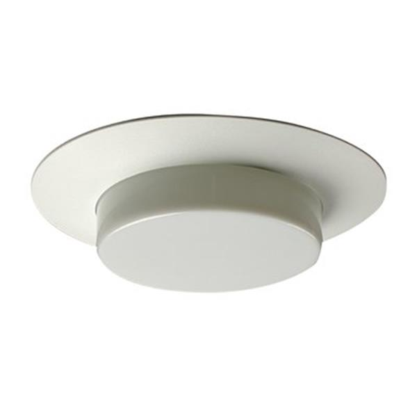 Galaxy Lighting White 6-in Line Voltage Shower Recessed Lighting Trim