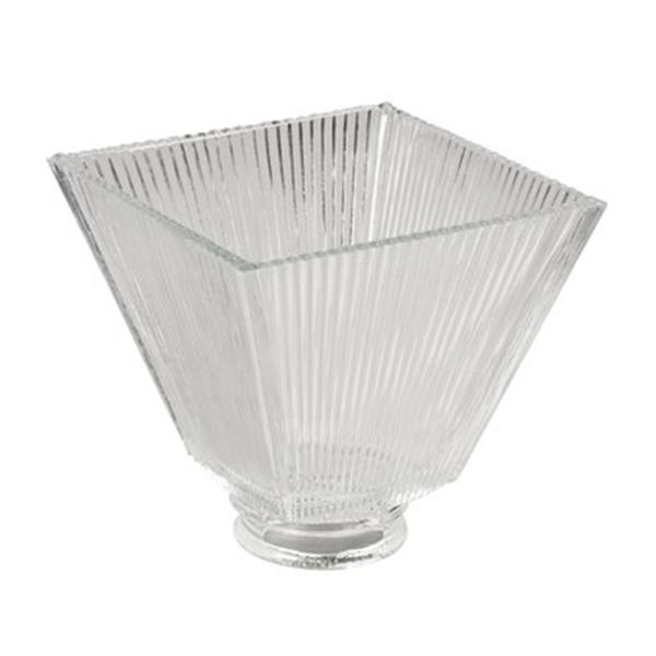 Galaxy Clear Square Ribbed Replacement Glass