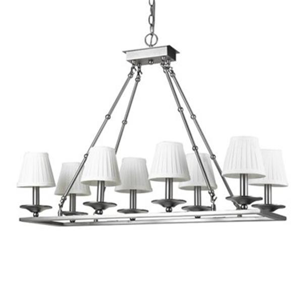 Amlite Lighting 8-Light Boxgrove Island Light