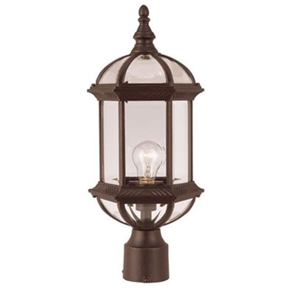 Amlite Lighting Antique Copper Post Mount Light