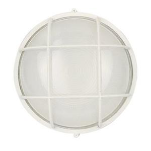 Amlite Lighting 5.62-in Matte White Outdoor Fixture