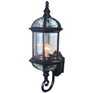 Amlite Lighting Outdoor Wall Lantern,OW 2051 BK