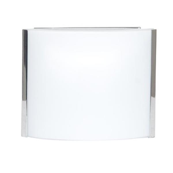 Amlite Lighting Broadway Chrome 1-Light Bathroom Vanity Light